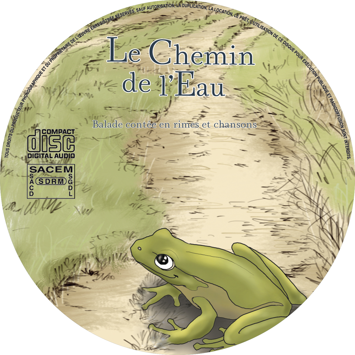Cd chemin label